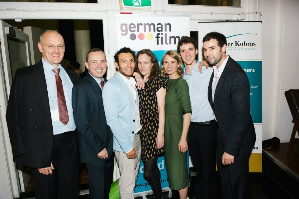 Festival guests along with representatives from Goethe Institut and German Films.   © Wesley Nel 2014
