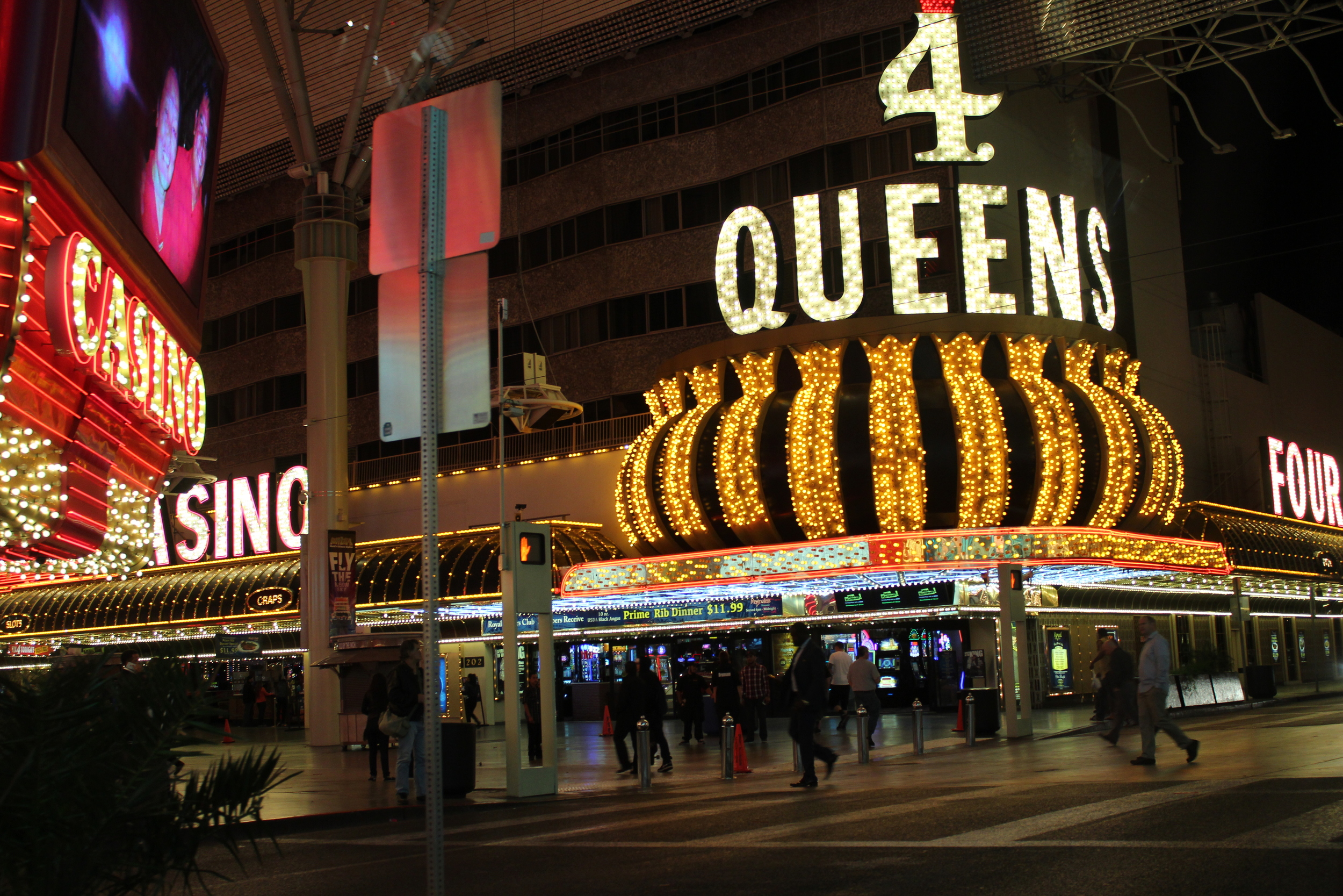 Old Vegas is photogenic.