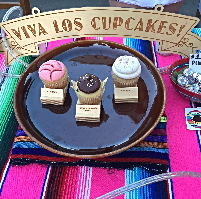 Viva Los Cupcakes  - especially the tamale con mole cupcake.