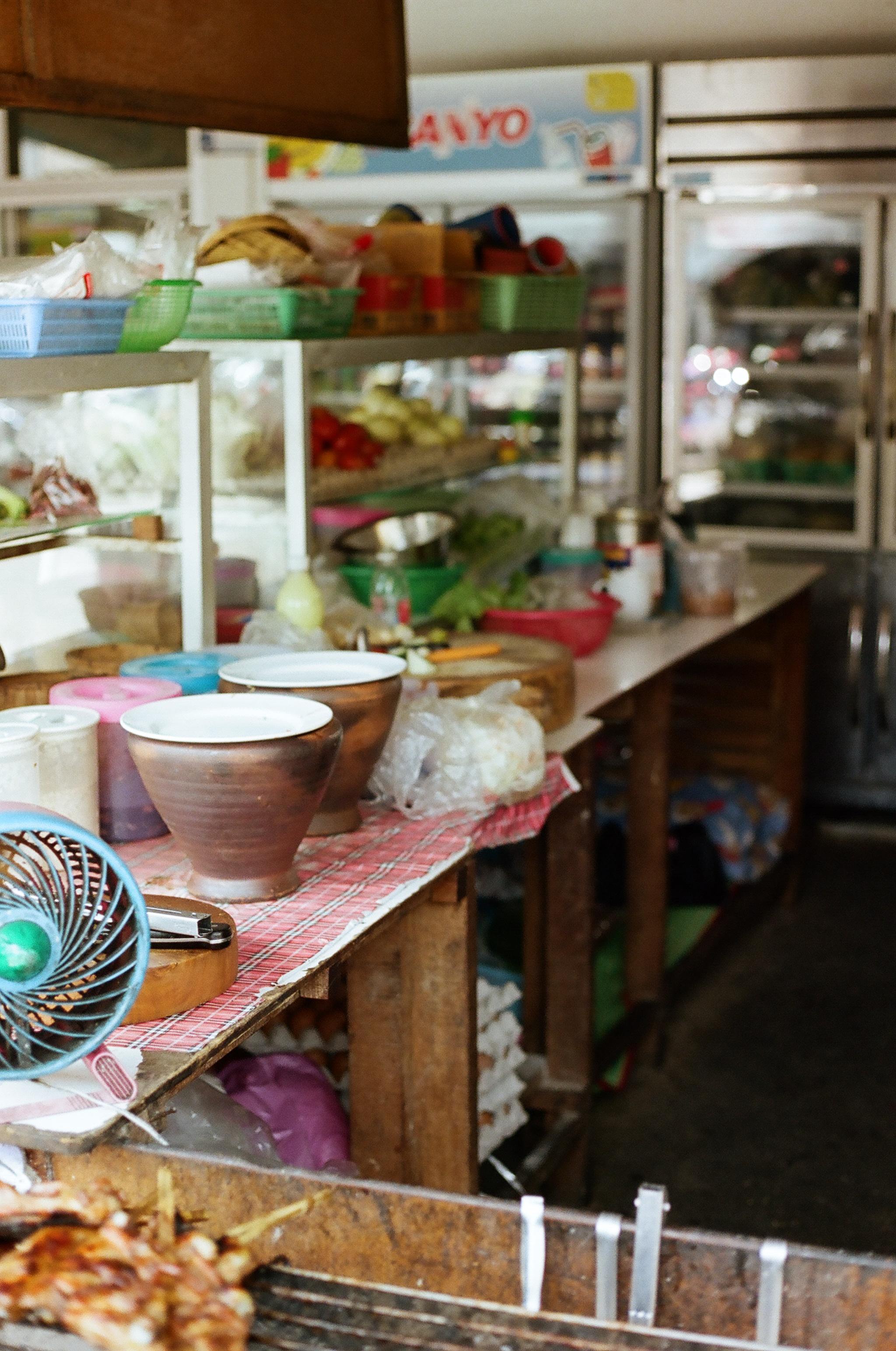 Food stop on Koh Samet
