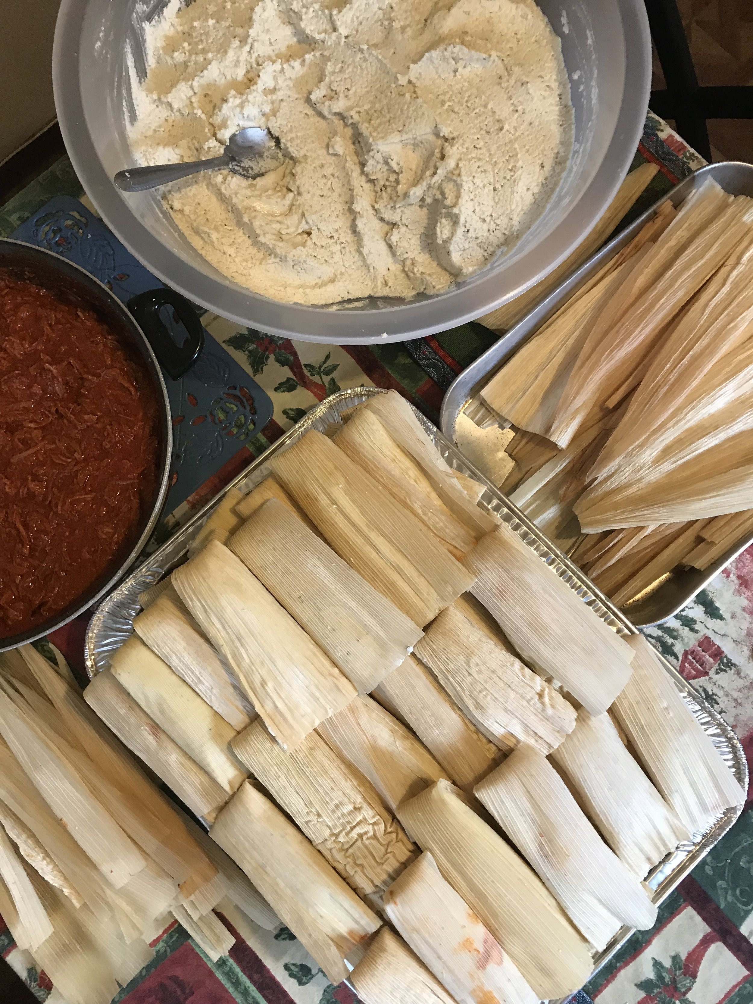 Generous Knowledge and the Tamale Process - Generously shared knowledge from my mom-in-law