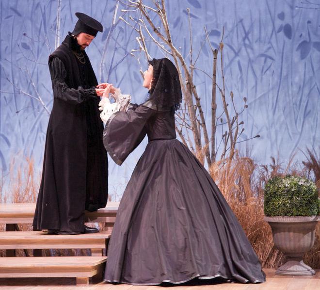 Malvolio and Olivia