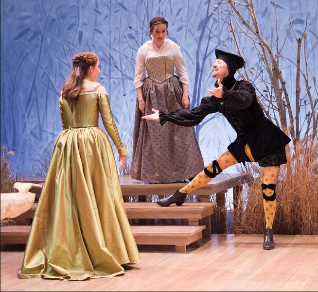 Olivia, Maria, and The Yellow Stockings