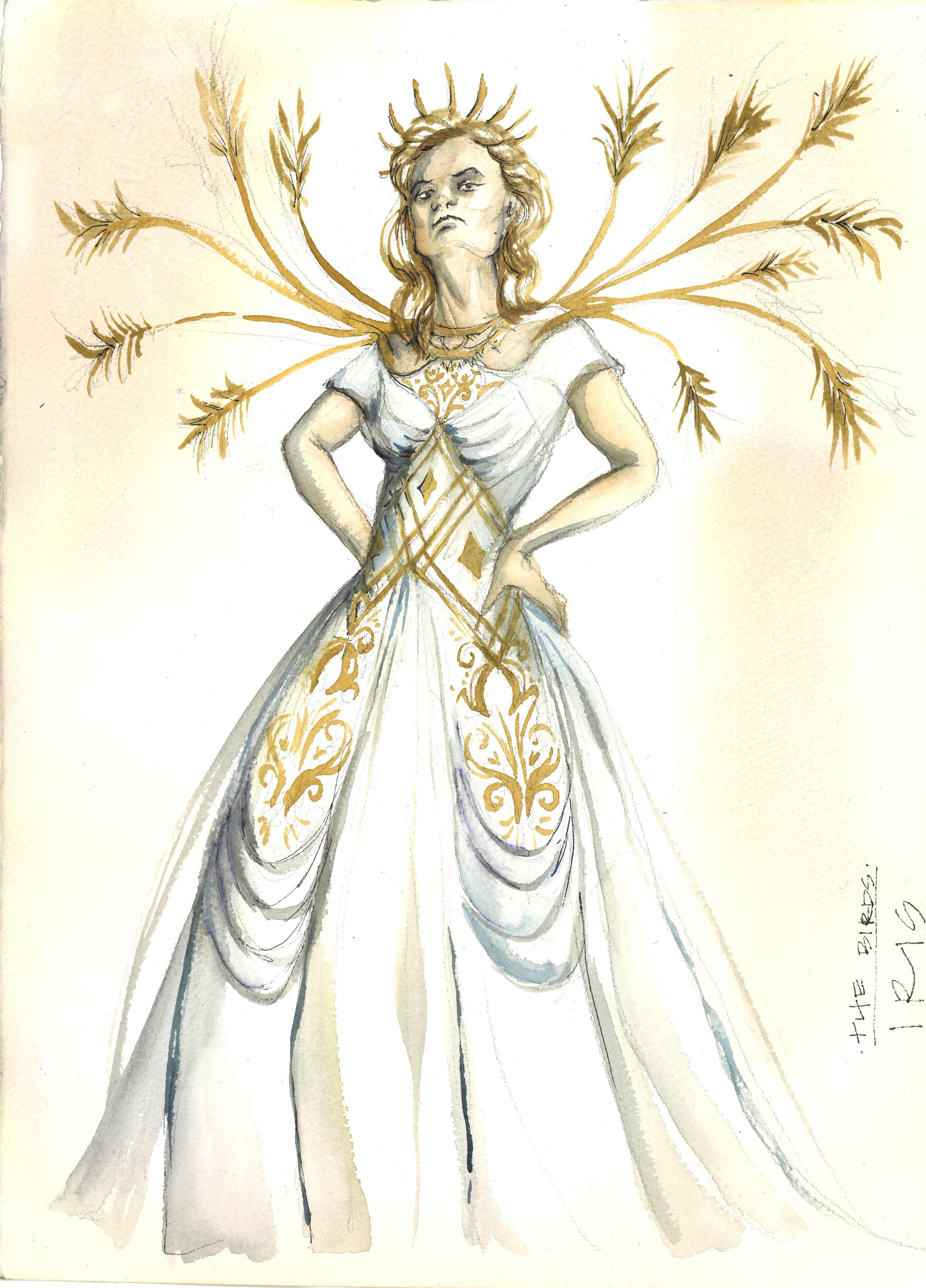 Iris, the Goddess