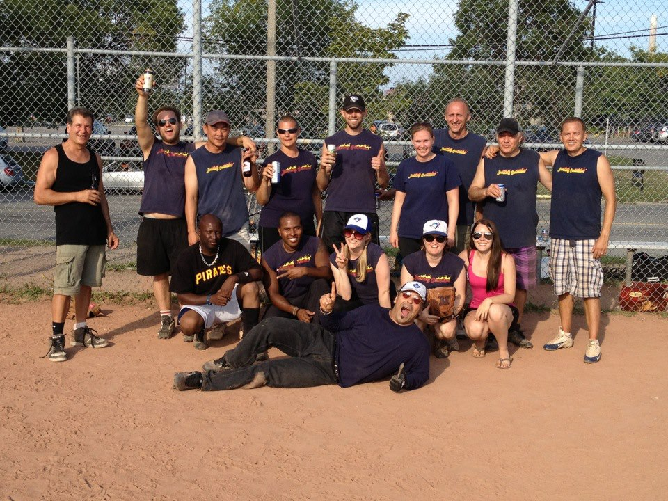 2013's undefeated champions (at softball and probably beer consumption)
