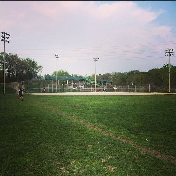 One of Toronto's many amazing baseball/softball fields