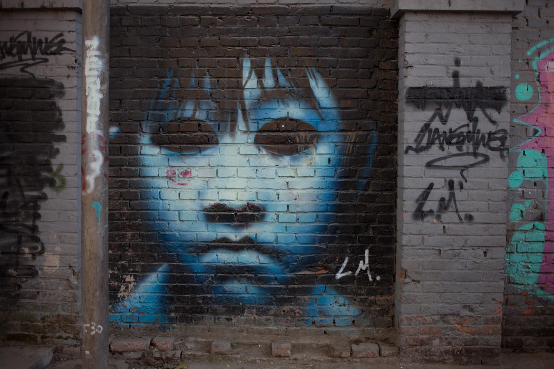 Graffiti at 798 Art district