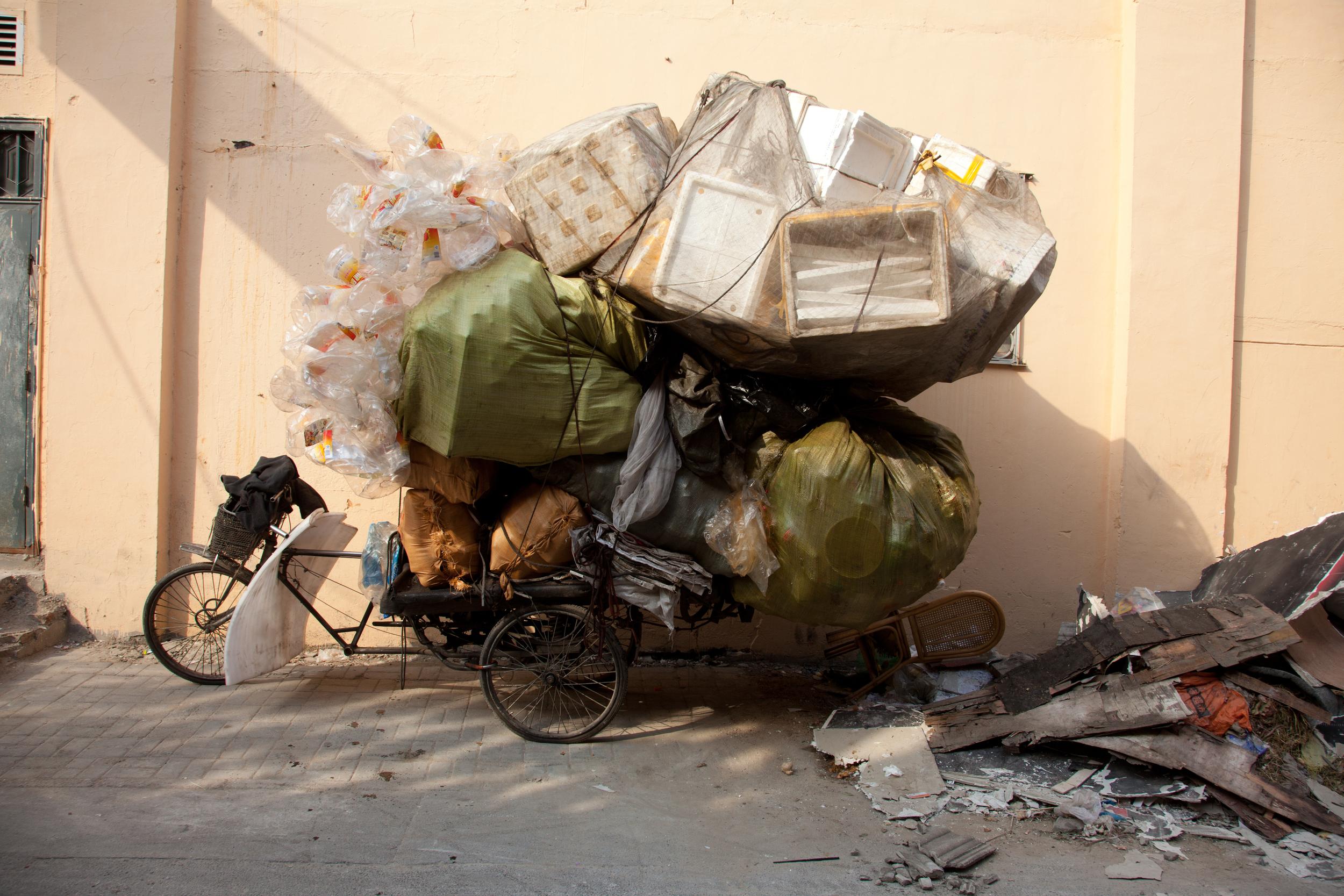 My local neighbourhood recycling unit