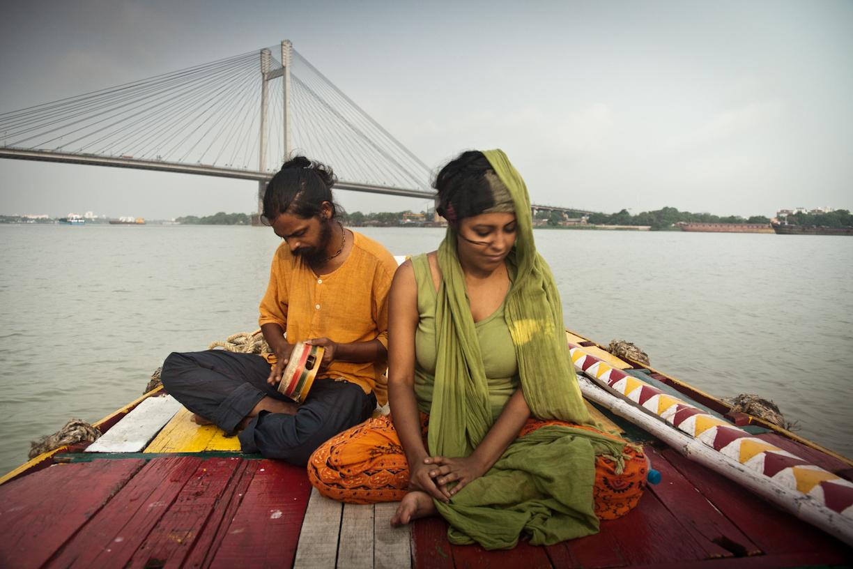 Sanjay and Malabika in Kolkata