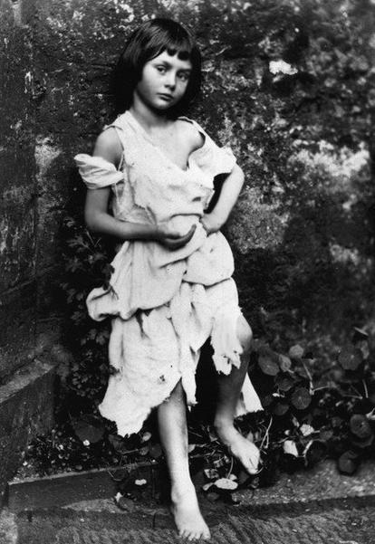 Photo of Alice Liddell taken by Lewis Carroll (1858)