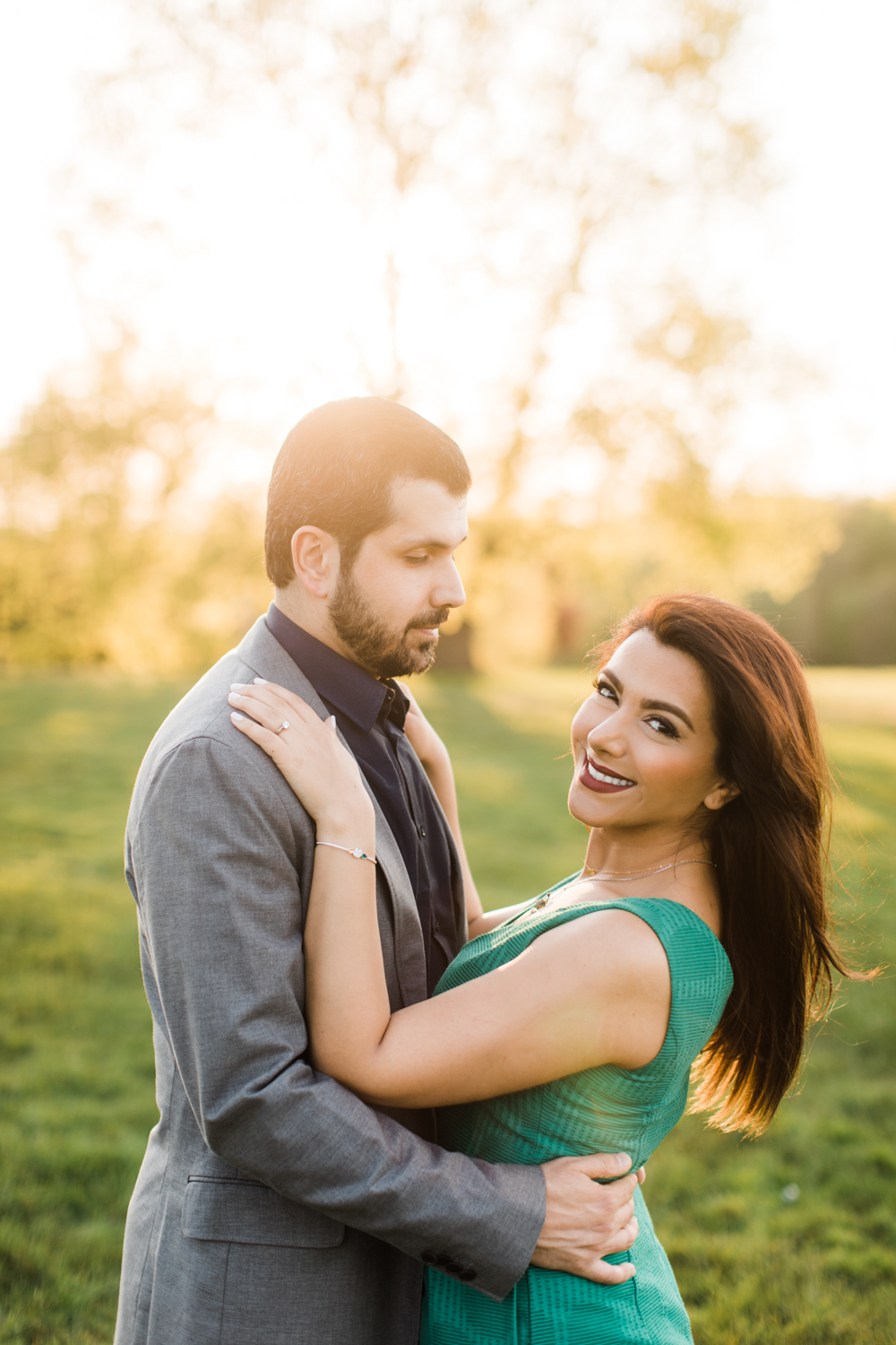 larz anderson engagement session