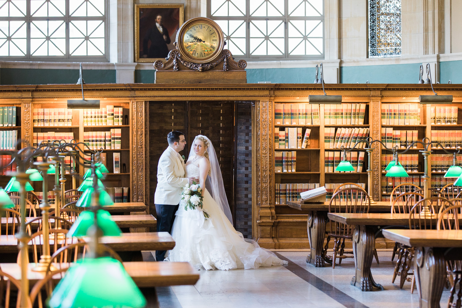 Boston Public Library Wedding.Nicole David Elm Bank And Boston Public Library Wedding