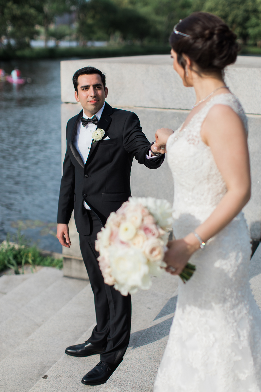 charles river esplanade persian iranian wedding
