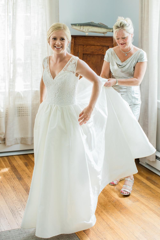 Thompson Island wedding photo