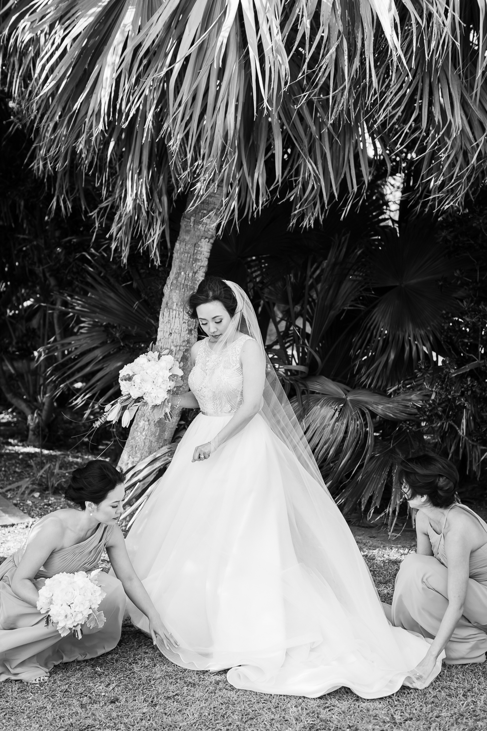 Unfinished Church Bermuda Destination Wedding Photos