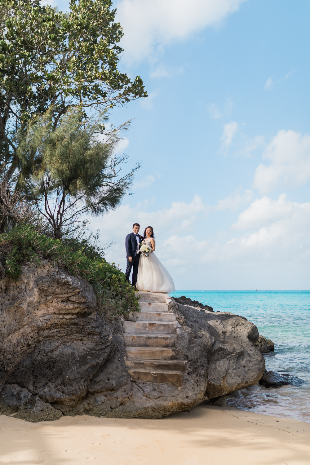 Emily Mark Hamilton Princess Bermuda Destination Wedding