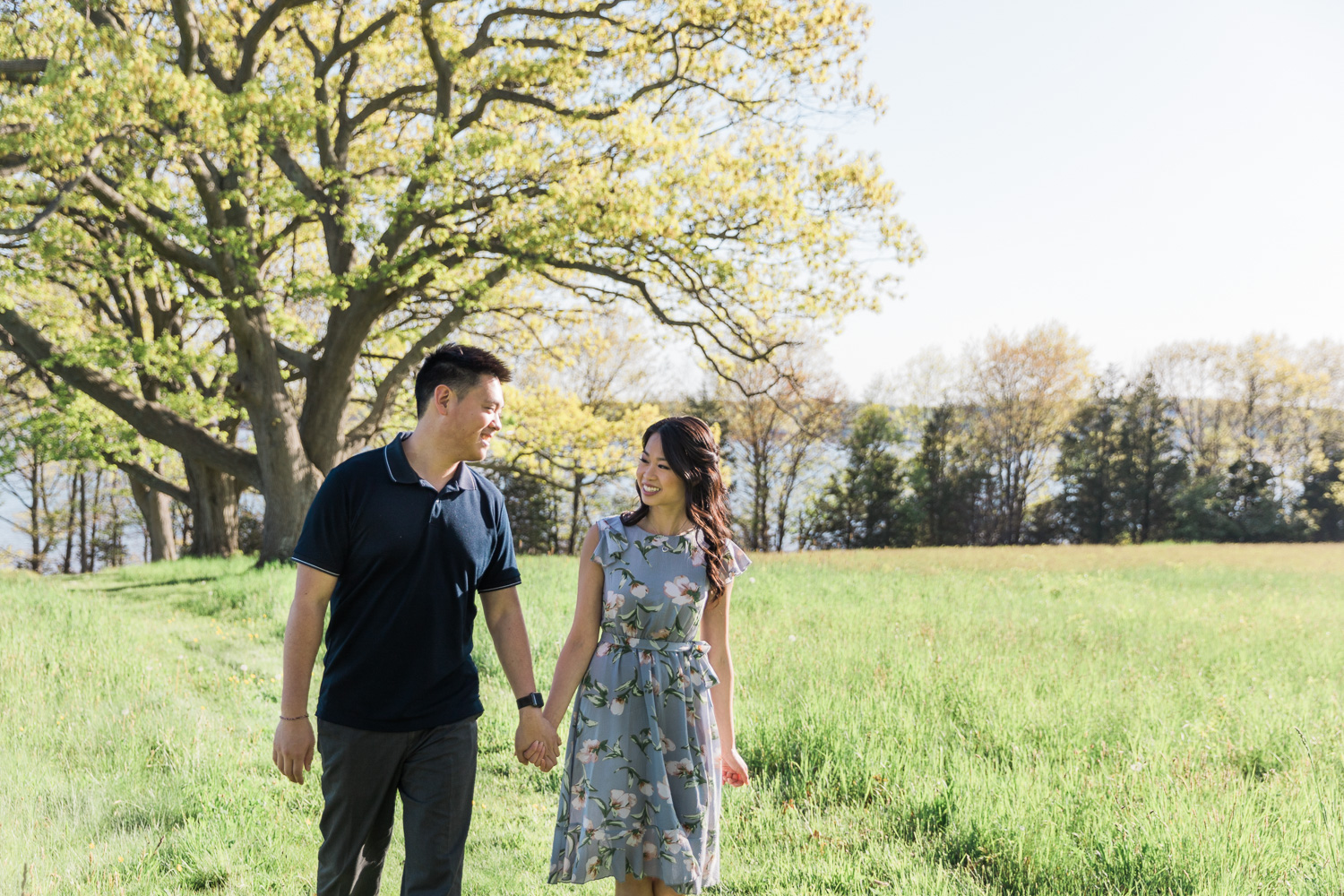 World's End Engagement Photos