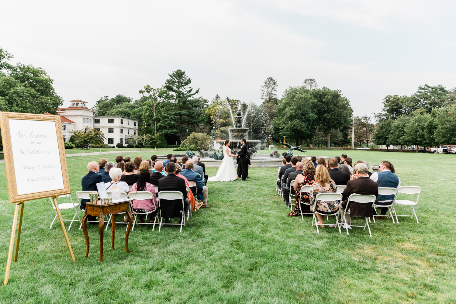 Full Ceremony at Tupper Manor