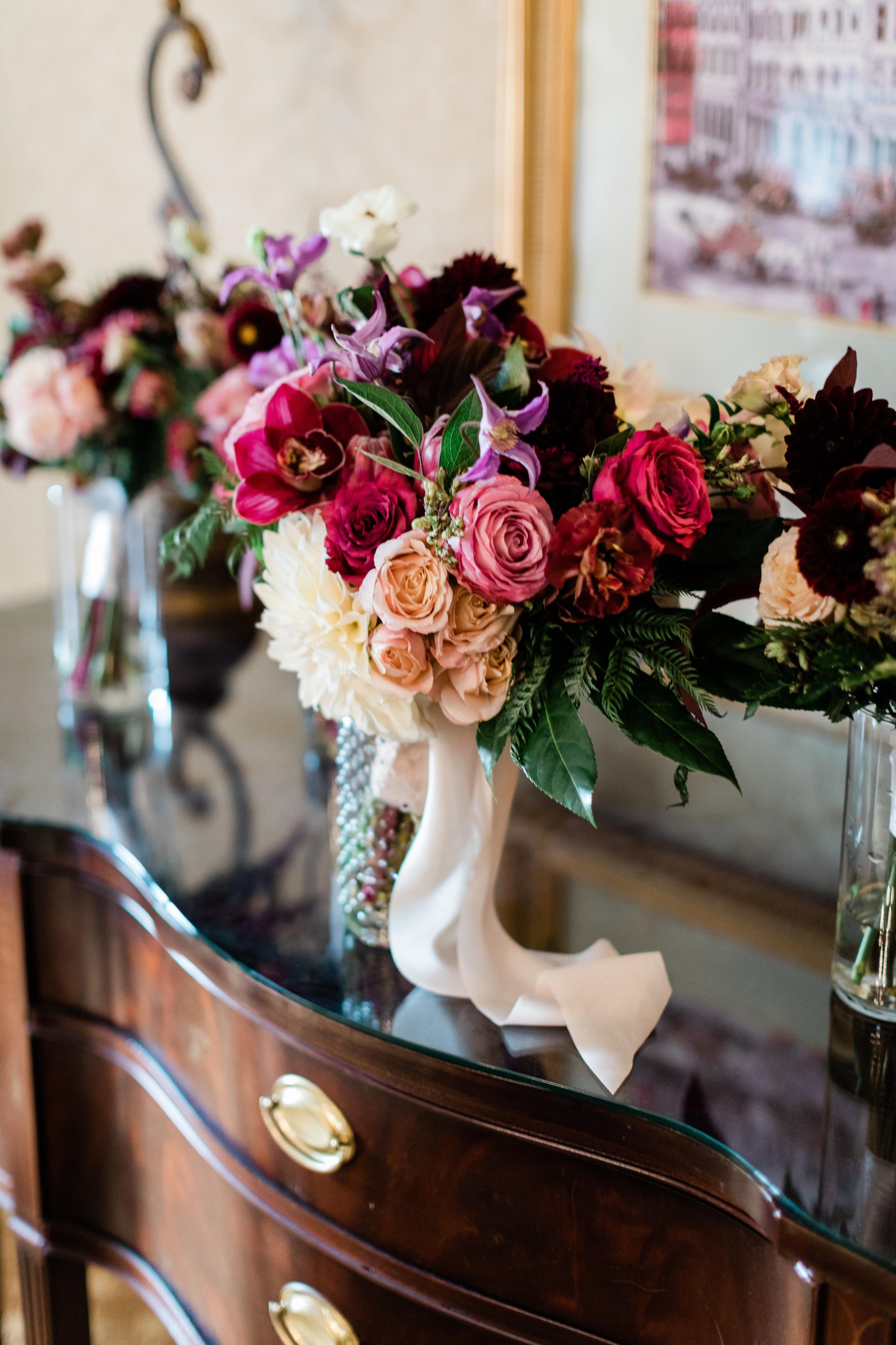 Omni Parker Hotel Fleur Event Bouquet