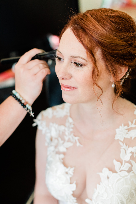 Beautiful Bride Makeup by Hunter Hughes