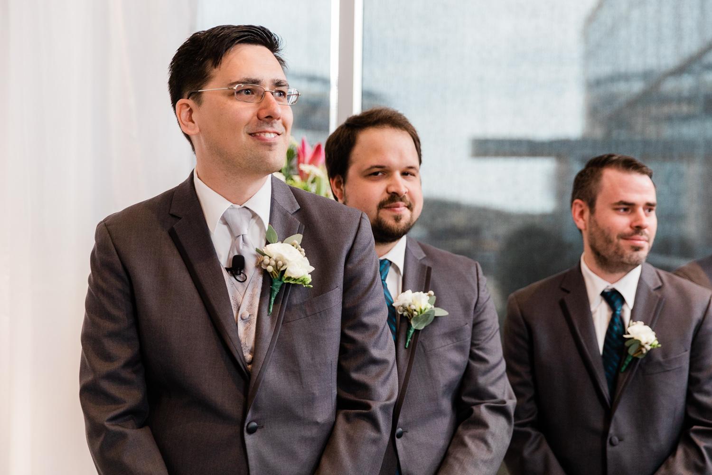 Renaissance Boston Patriot's Place Wedding Ceremony