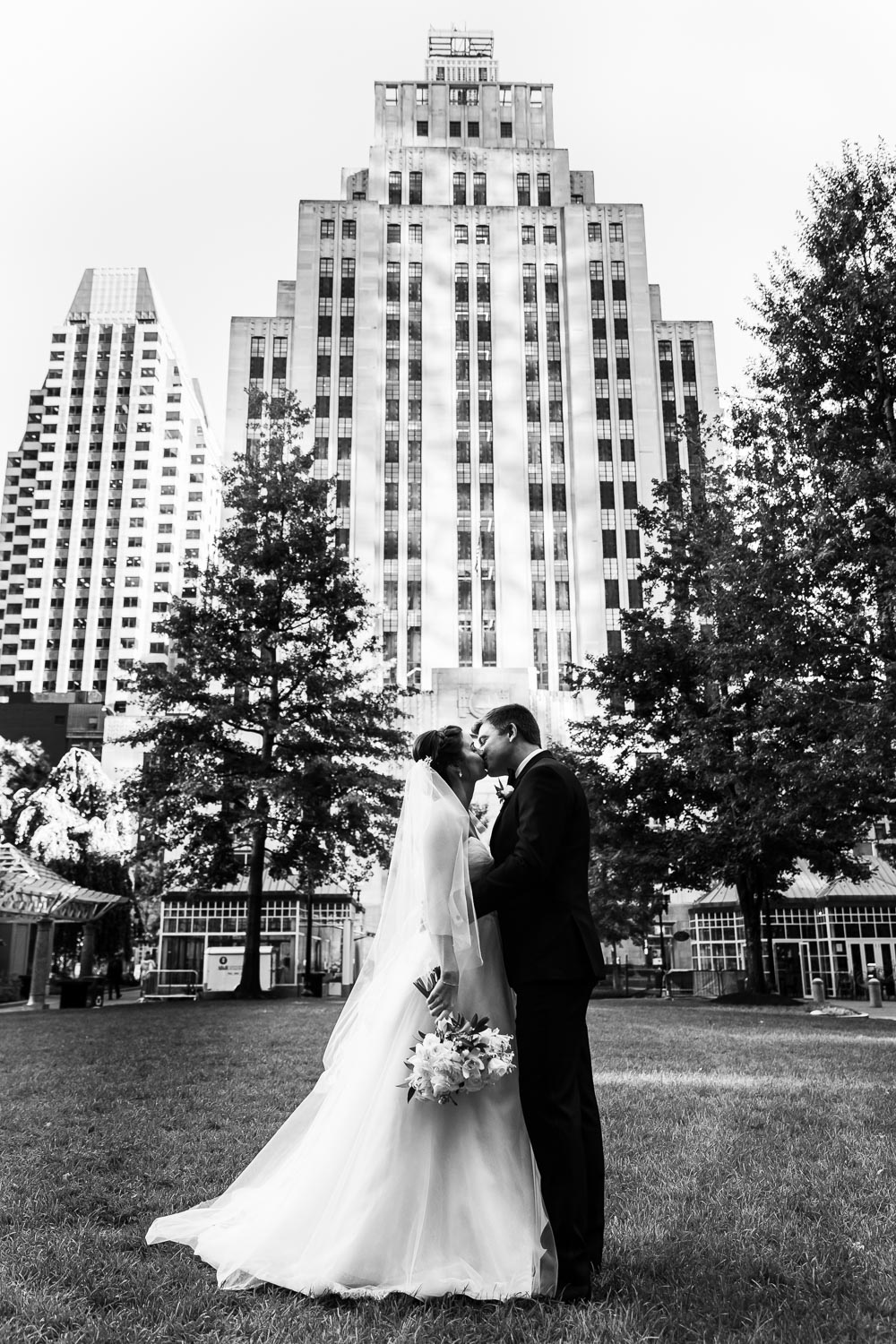 Post Office Square Wedding
