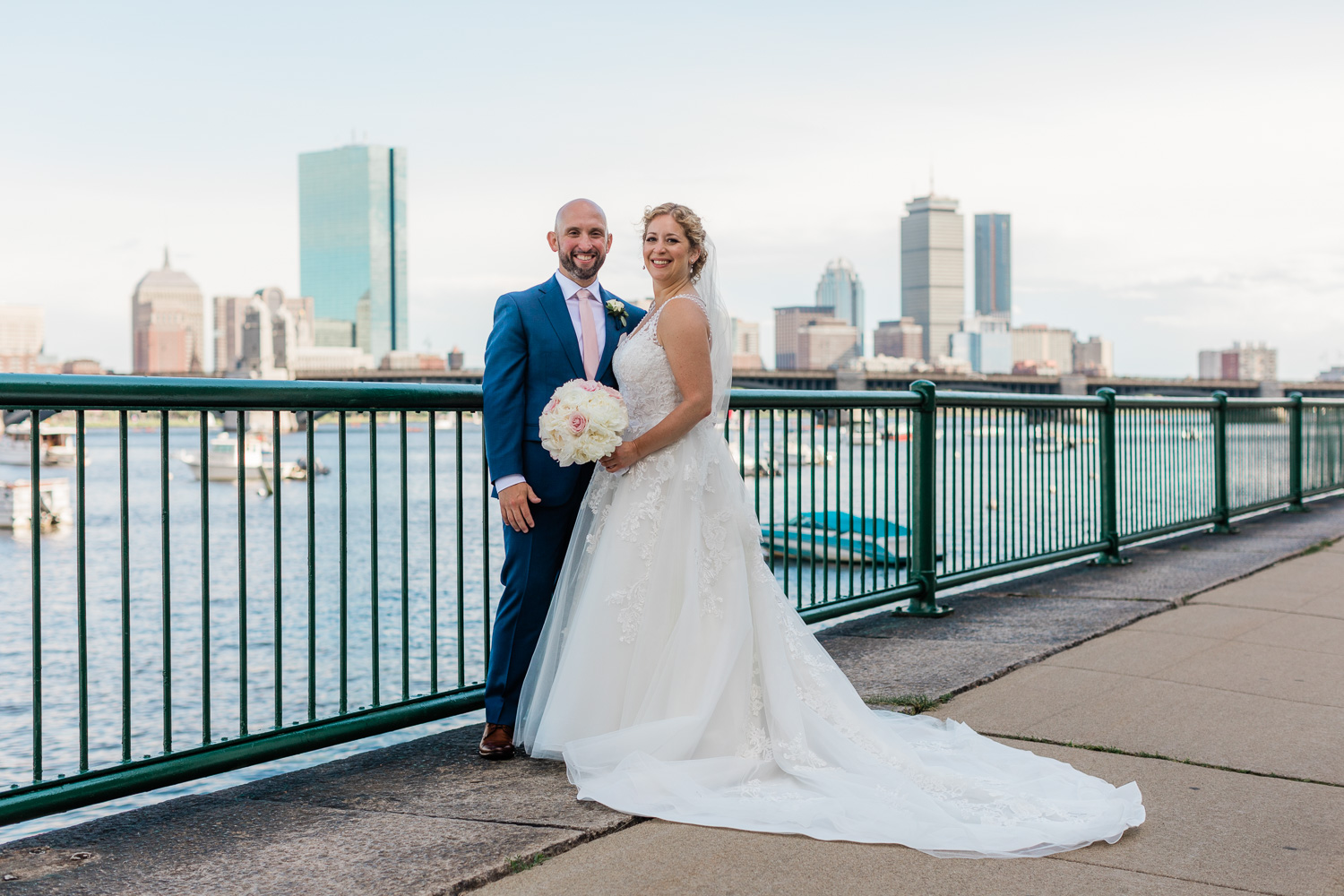 Royal Sonesta Overlooking Boston Wedding