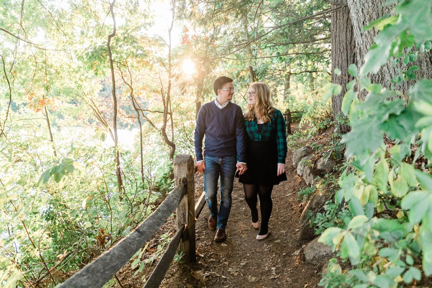 Wellesley College Engagement Session