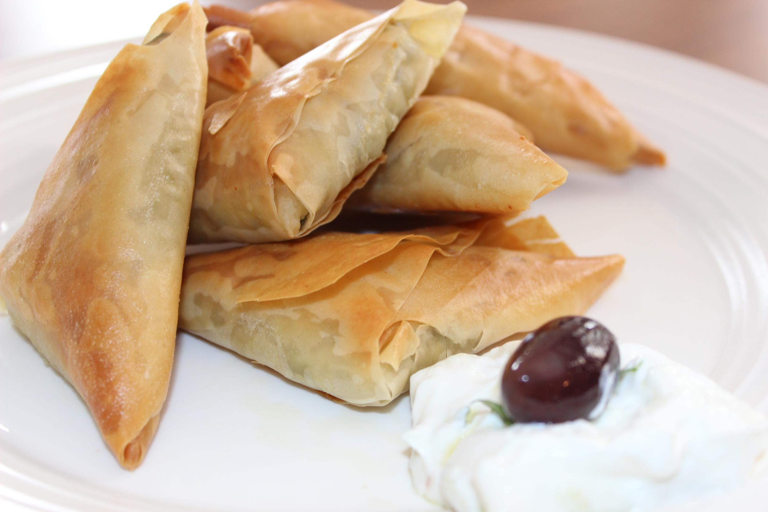 Spanakopita - Catering & Finger Food Menu