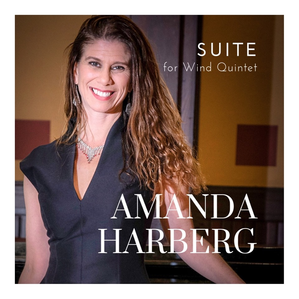 "Aspen Winds presents NFA premiere of ""Suite for Wind Quintet"" by Amanda Harberg - ""Thank you for bringing such artistry to my piece! What a total delight to meet and work with you …""…Amanda Harbergsheet music available through Theordore Presser at presser.com"