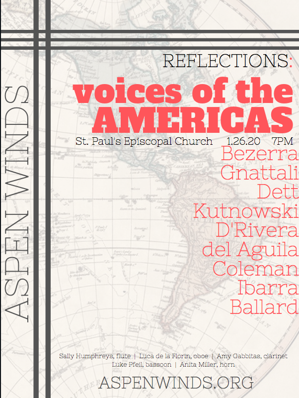REFLECTION: AMERICAN VOICES - LUKE PFEIL - Whenever we think of