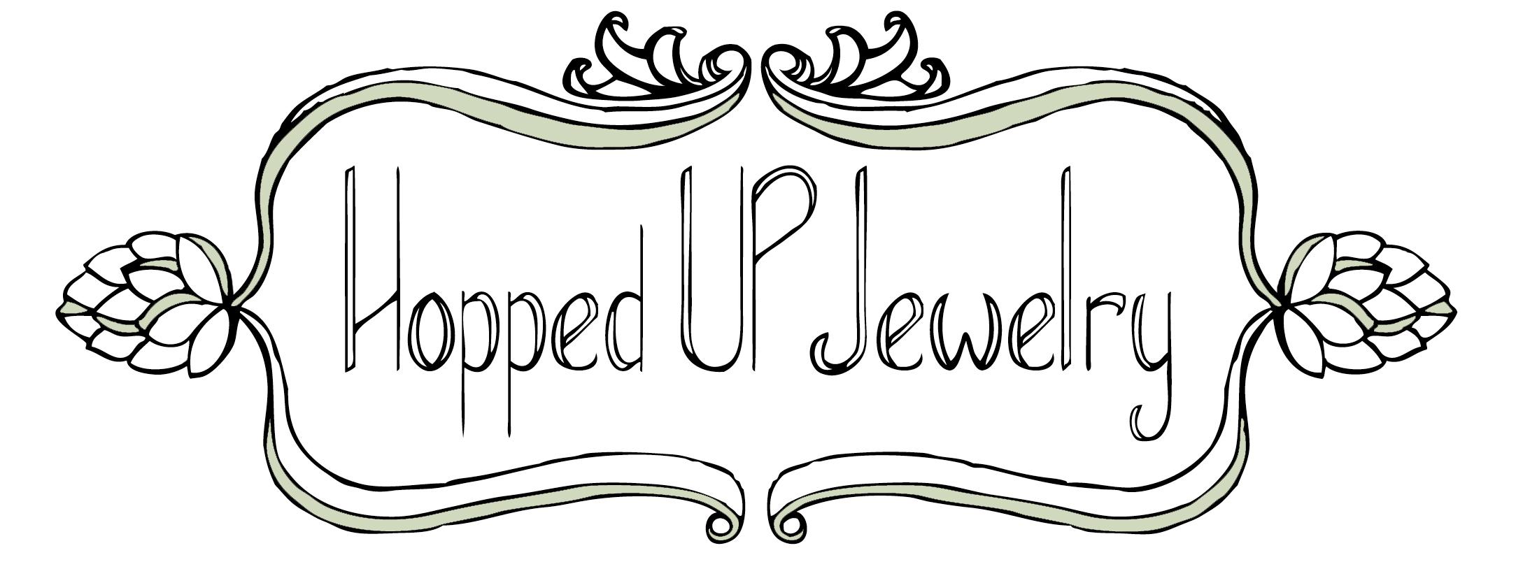 Hopped Up Jewelry Logo