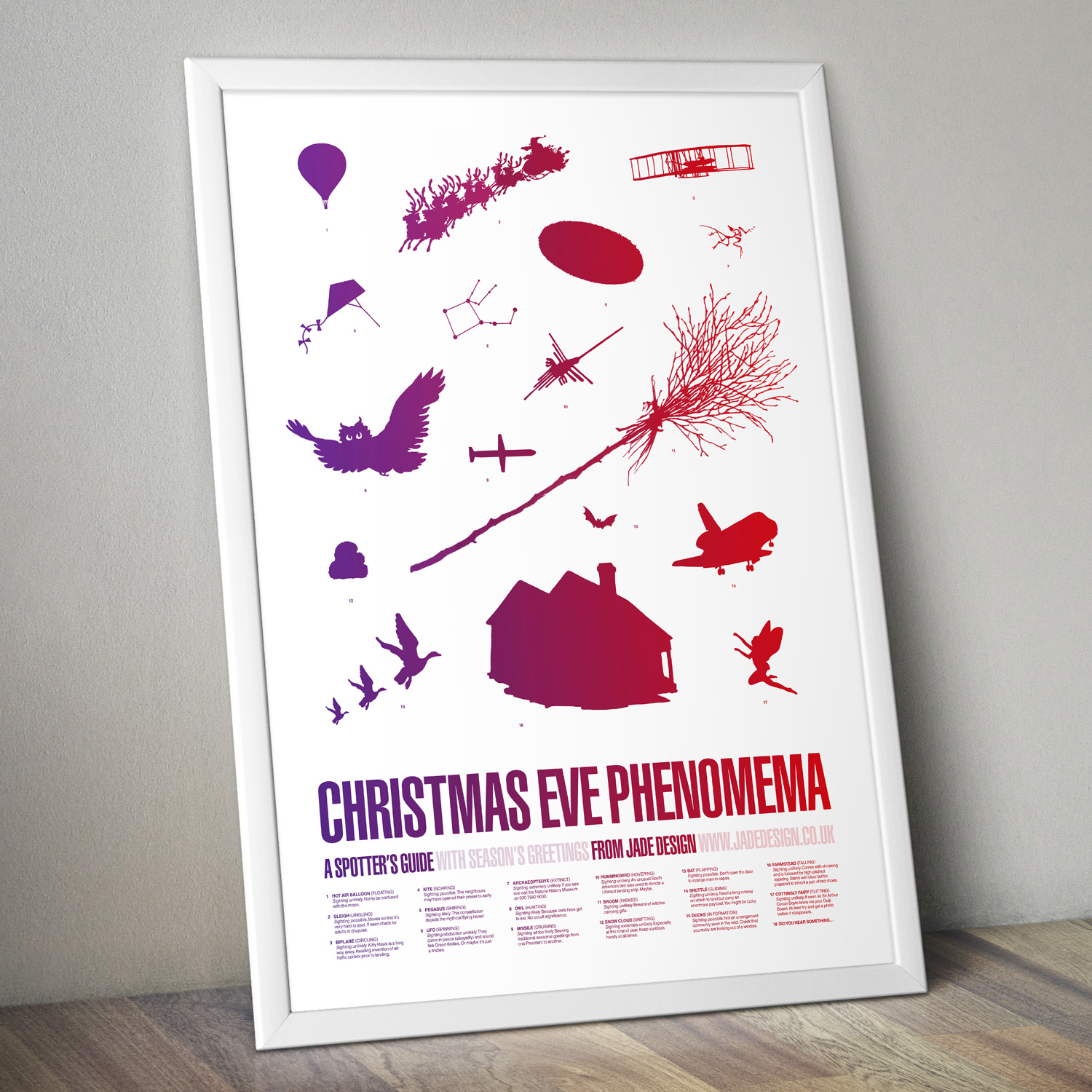 Something to look at while you wait for the arrival of Father Christmas