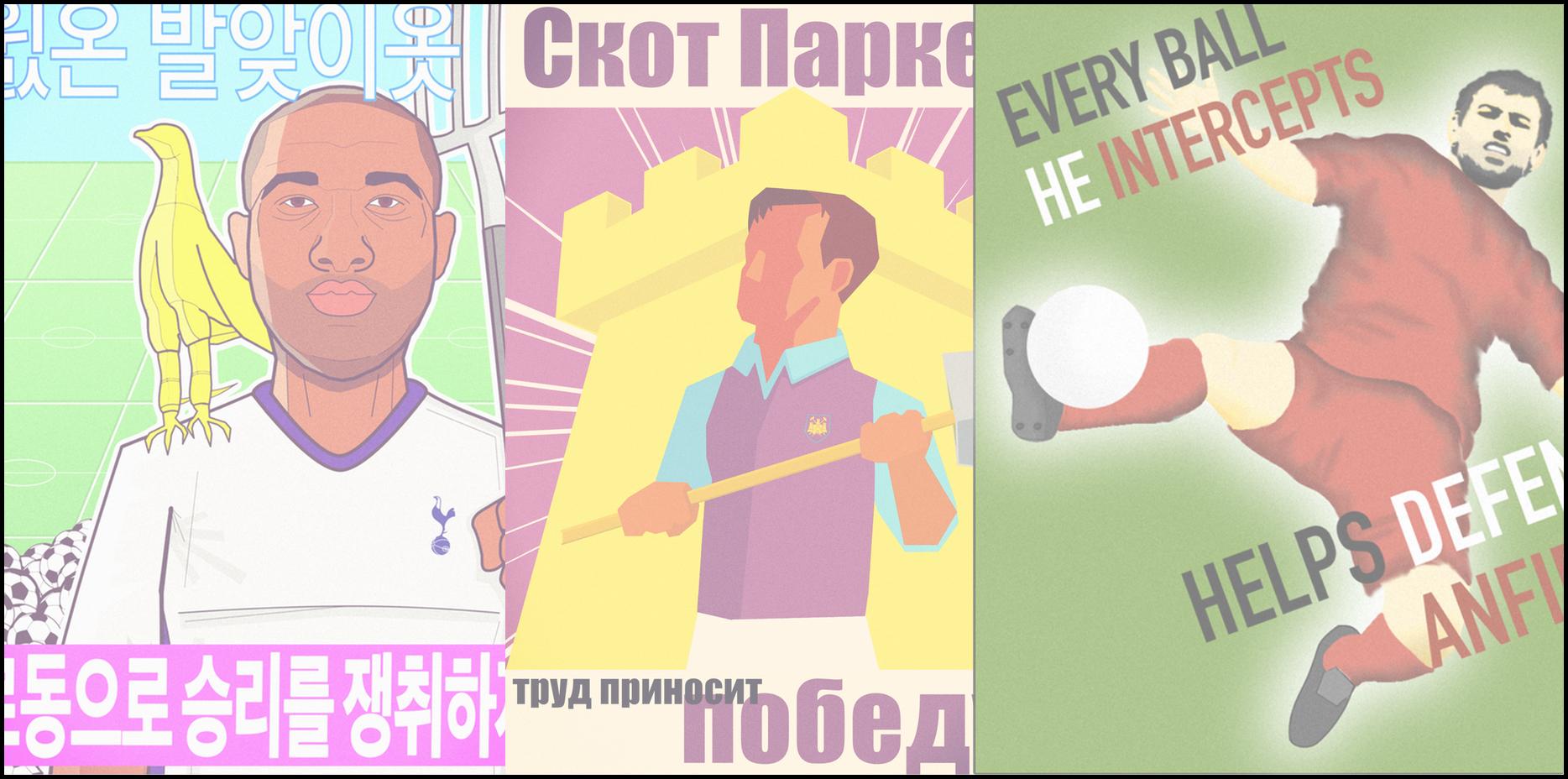 THEIR WORK BRINGS VICTORY! - Celebrating football's hardest-grafting midfielders