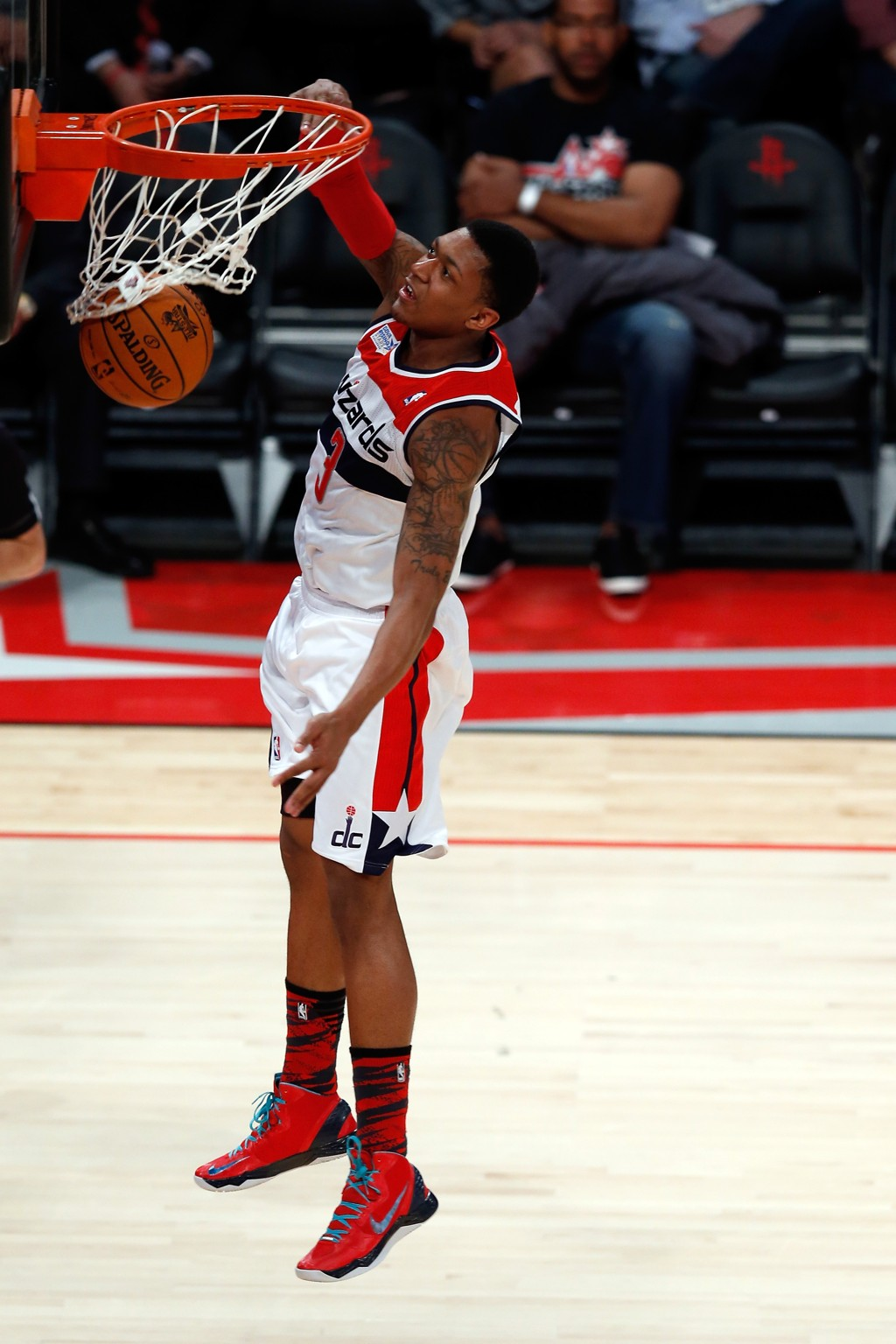 Wizards rookie guard Bradley Beal was named to the NBA All-Rookie First Team Tuesday after posting 13.9 ppg & 3.8 rpg last season.