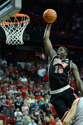 Anthony Bennett averaged over 16 points per game and eight rebounds per game in his only season at UNLV.