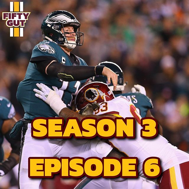 🚨NEW PODCAST🚨  S3/E6: Eagles Preview - The guys talk about the upcoming season opener in Philadelphia. How will a new-look offense and a revved-up defense fare against one of the NFC favorites? Link in bio! #Redskins #HTTR