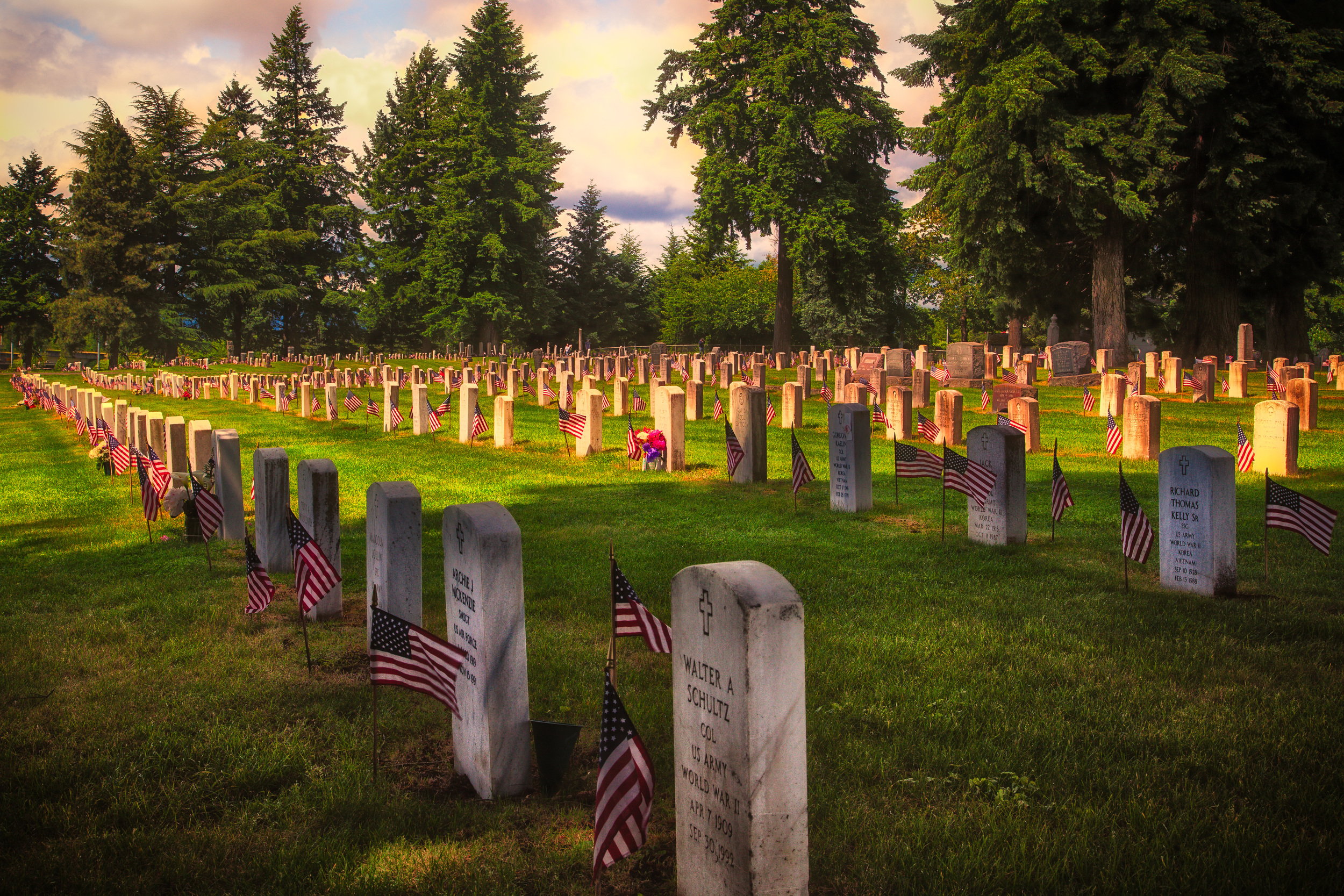 Fort Vancouver Barracks Cemetery, Vancouver WA
