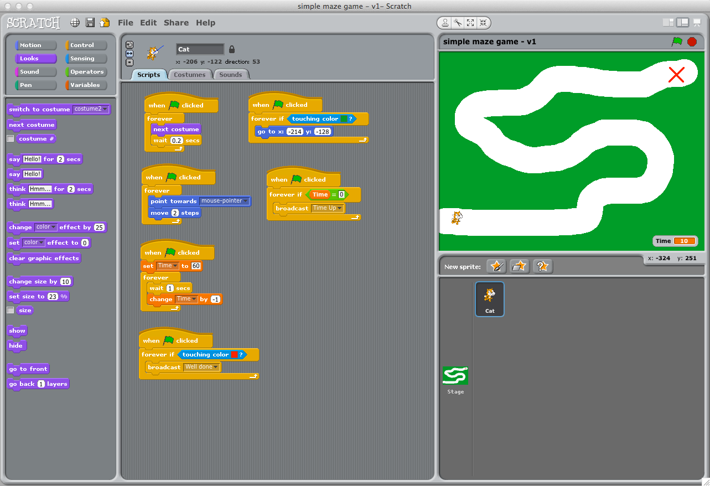Scratch Programming Scenarios for Key Stage 2
