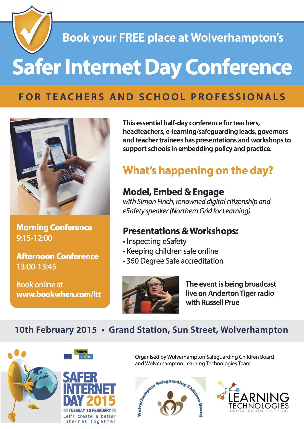 Download a flyer - professionals conference (PDF)