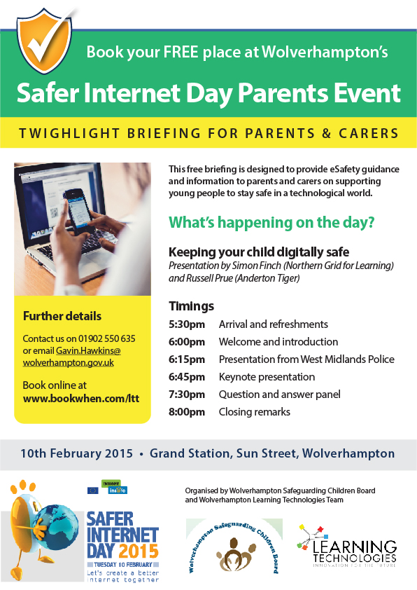 Download a flyer - parents and carers conference (PDF)