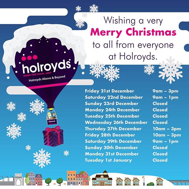 And another for Holroyds Estate Agents this week. #design #christmas #estateagent