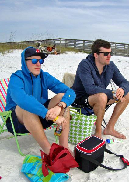Matt & Eric at the Beach February 2012