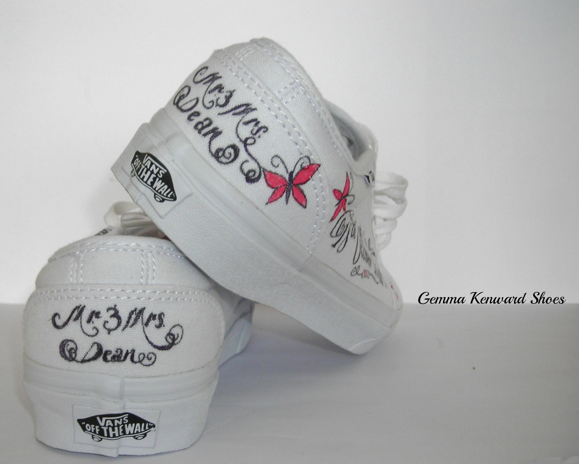 Personalised Vans for a wedding