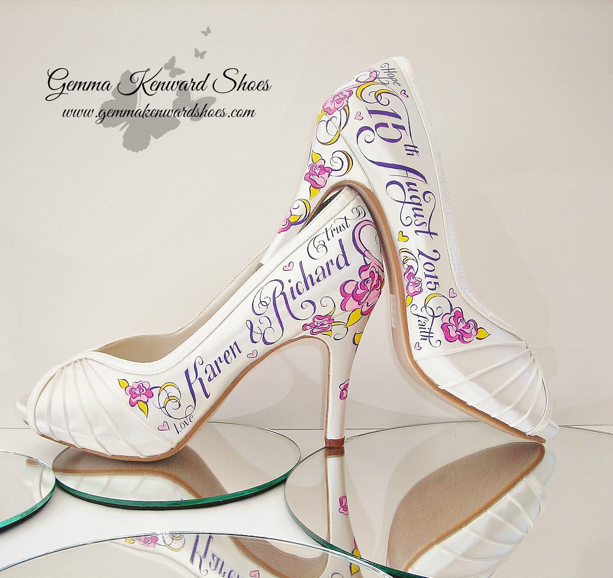 Karens hand painted wedding shoes.JPG