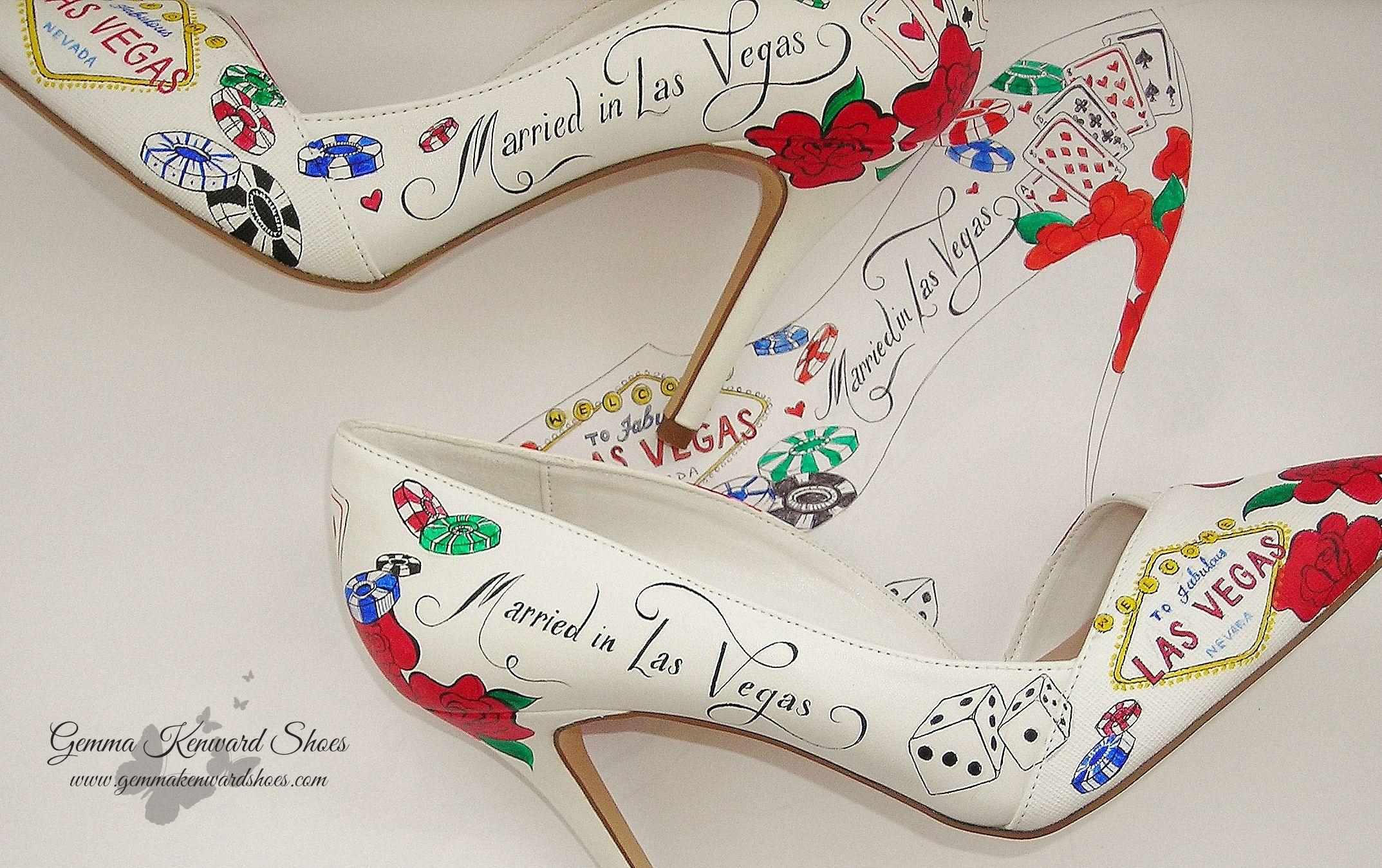 Designer Las Vegas wedding Shoes