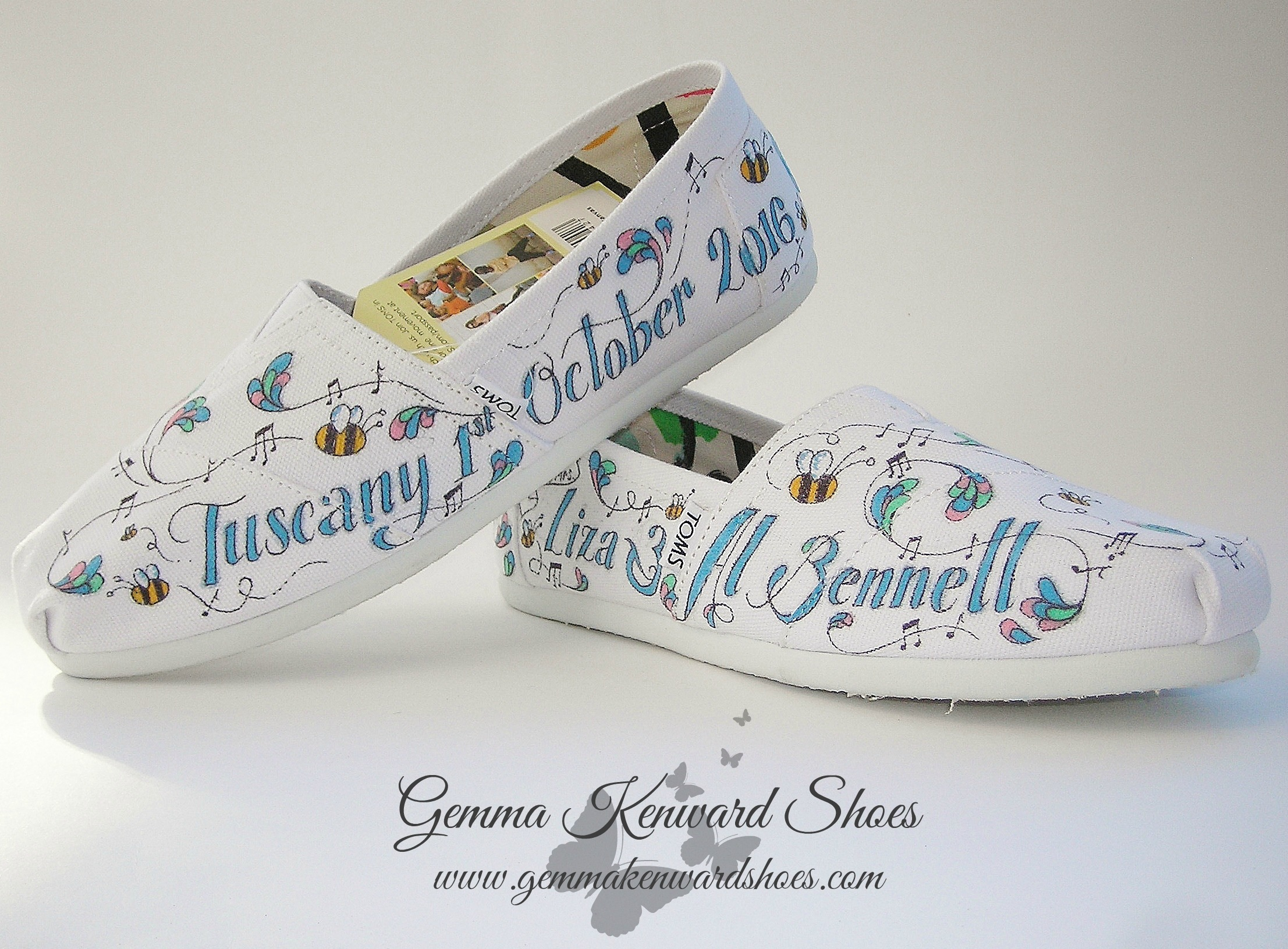 Personlised bee wedding Toms.JPG