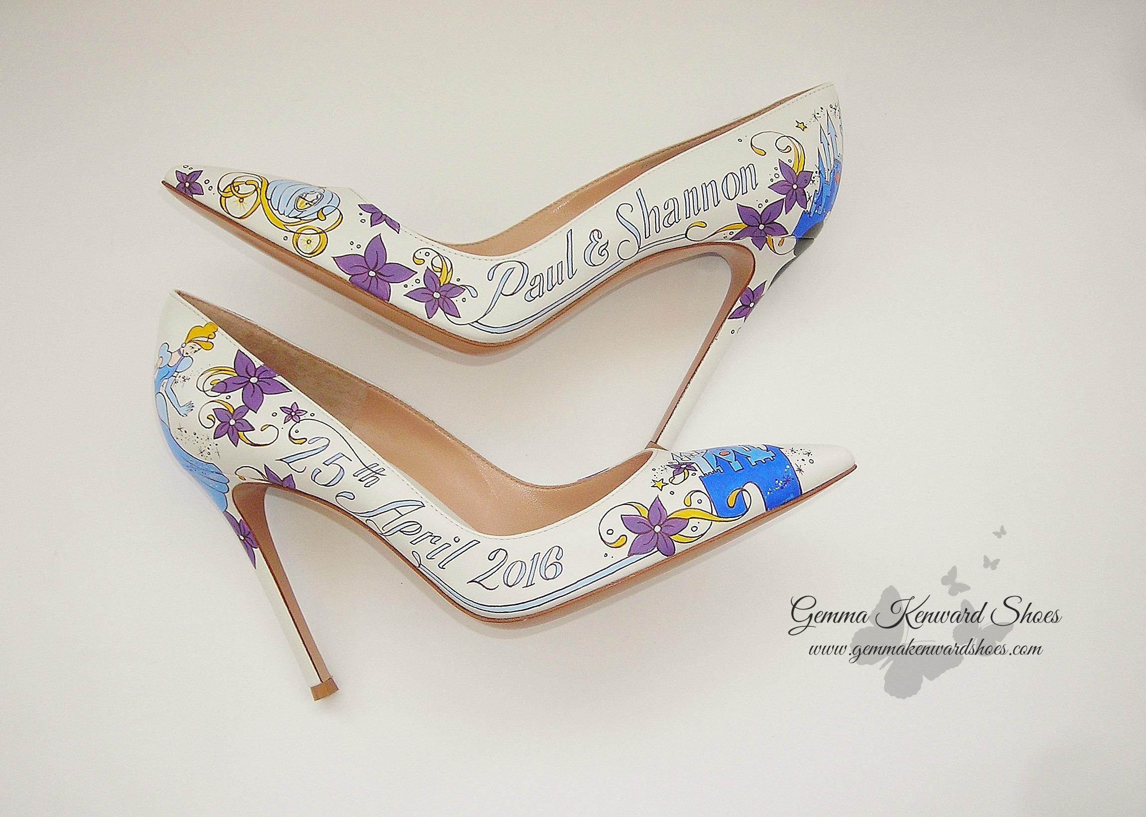Purple Wedding Heel.Heels