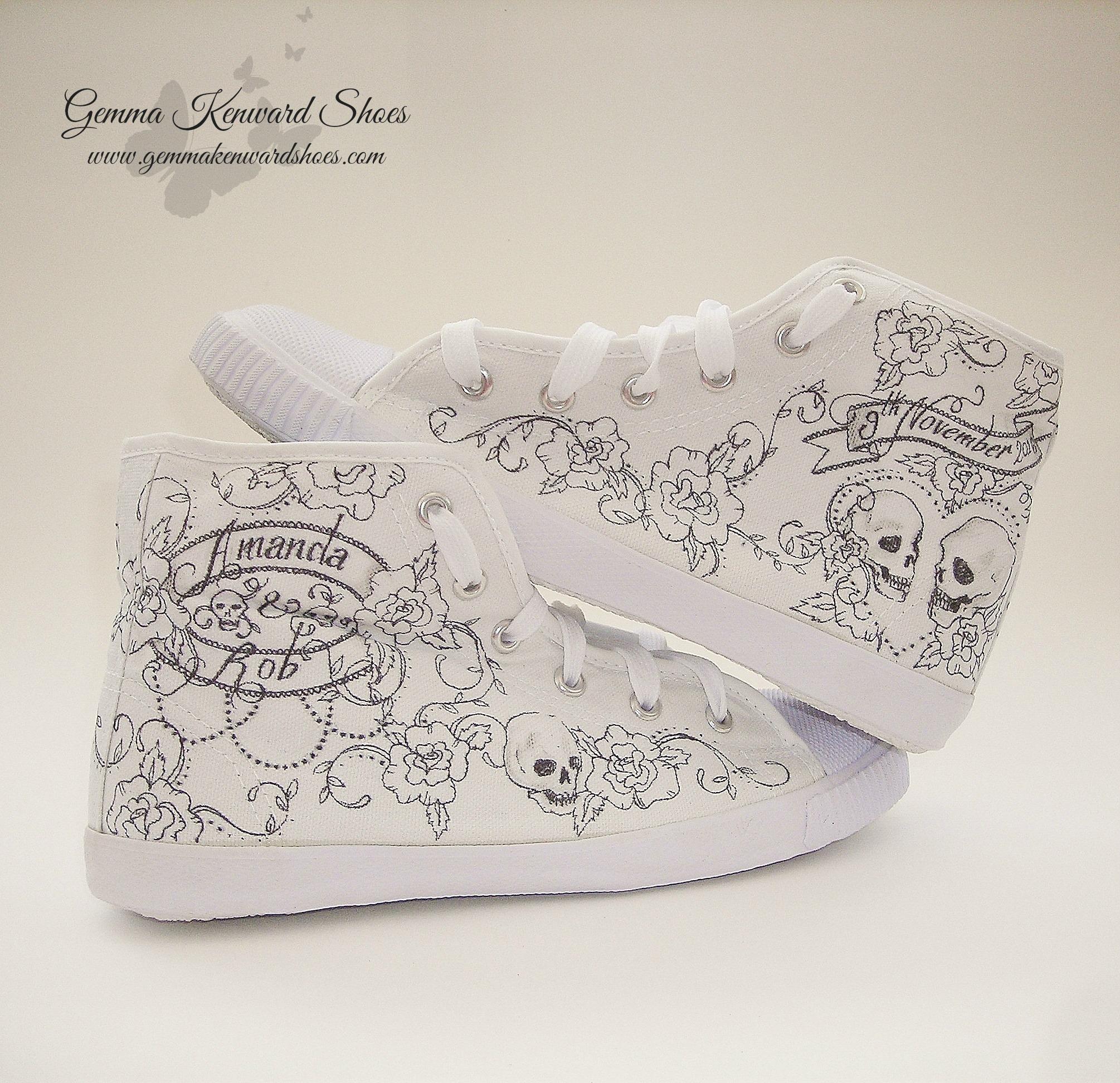 Hand Painted bridal converse high tops.JPG