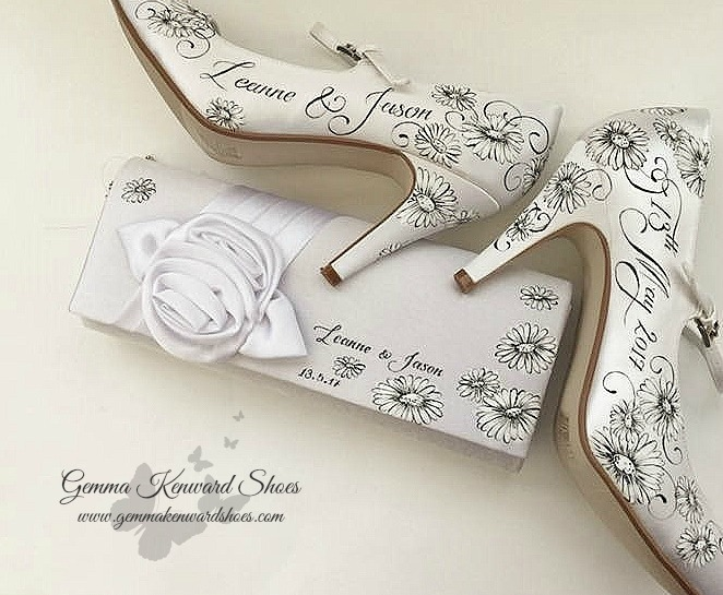 Hand painted black and white wedding shoes.jpg
